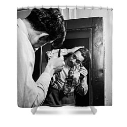 Music's Golden Era - Cab Calloway 1947 Shower Curtain by Mountain Dreams