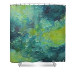 Musing 117 Shower Curtain