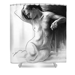 Musing And Contemplations Shower Curtain