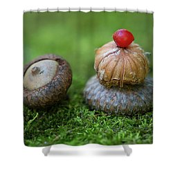 Shower Curtain featuring the photograph Musing With Nature by Dale Kincaid