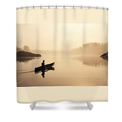 Muskoka Morning Shower Curtain