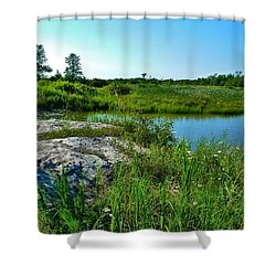 Muskoka Ontario 4 Shower Curtain by Claire Bull