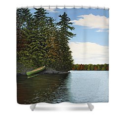 Muskoka Shores Shower Curtain