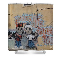 Must Be The Music Man Shower Curtain