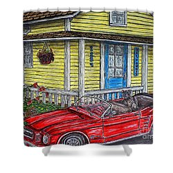 Mustang Sallys' Place Shower Curtain