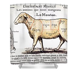Mutton Shower Curtain