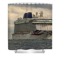 Mv Britannia 2 Shower Curtain