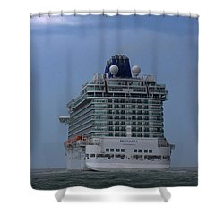 Mv Britannia 3 Shower Curtain