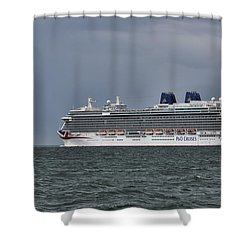 Mv Britannia 4 Shower Curtain
