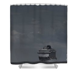 Mv Britannia Shower Curtain