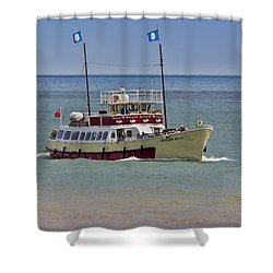 Mv Yorkshire Belle Shower Curtain