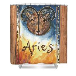 My Aries Shower Curtain
