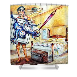 My Art Thing Shower Curtain
