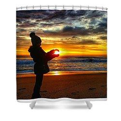 My Ball Of Sunshine Shower Curtain