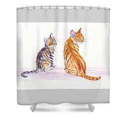 My Big Sister Shower Curtain