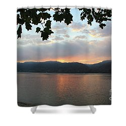 My Birthday Sunrise Shower Curtain