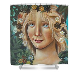 My Botticelli Shower Curtain