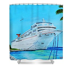 My Carnival Cruise Shower Curtain
