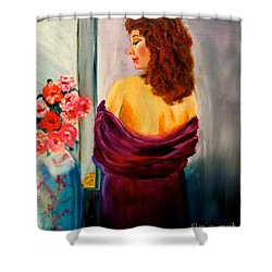 My Cherie Jenny Lee Discount Shower Curtain