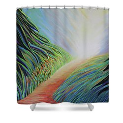 My Childhood In Nature Shower Curtain