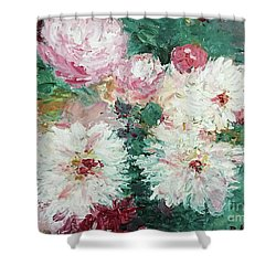 My Chrysanthemums Shower Curtain