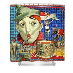 Shower Curtain featuring the photograph My Circus by Jeff Burgess
