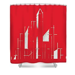My City Shower Curtain