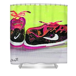 My Comfy Shoes Shower Curtain