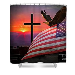 My Country Shower Curtain