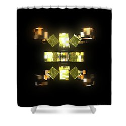 My Cubed Mind - Frame 085 Shower Curtain