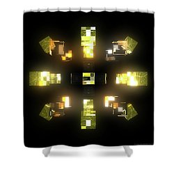 My Cubed Mind - Frame 172 Shower Curtain