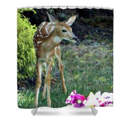 My Deer Friend...... Shower Curtain