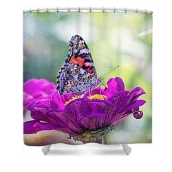 My Fair Painted Lady Shower Curtain