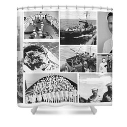 My Father Shower Curtain by Karol Livote