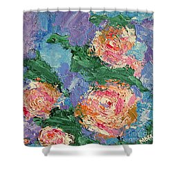My Father's Roses Shower Curtain