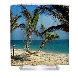 My Favorite Beach Shower Curtain