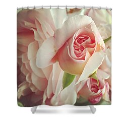 Abraham Darby Shower Curtain