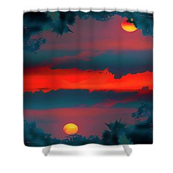 My First Sunset- Shower Curtain