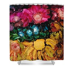 My Flower Garden Shower Curtain