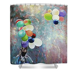 My Friend The Wind. Shower Curtain