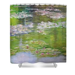 My Giverny Shower Curtain