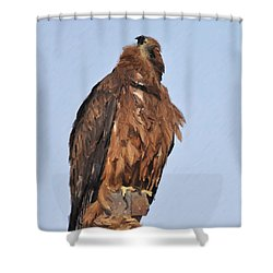 My God Lives There Shower Curtain