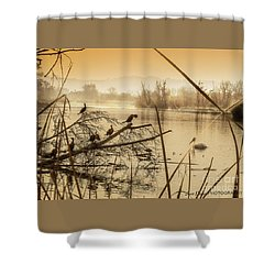 My Golden Pond 2 Shower Curtain