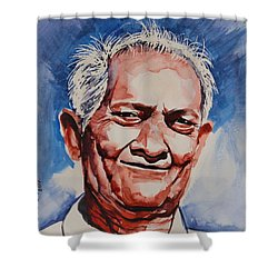 My Grandfather Shower Curtain