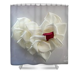 My Heart Shower Curtain