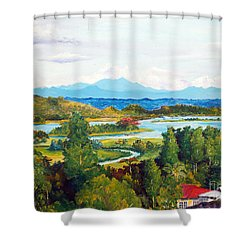 My Homeland Shower Curtain