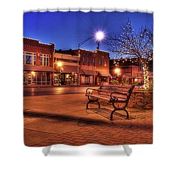 My Hometown Shower Curtain by Tamyra Ayles