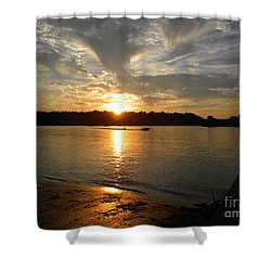 My Hometown Williamstown West Virginia Shower Curtain