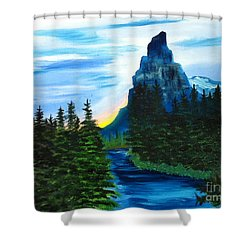 My Imagination Only Shower Curtain by Rod Jellison