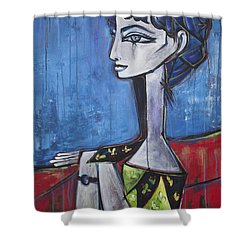 My Jacqueline Shower Curtain